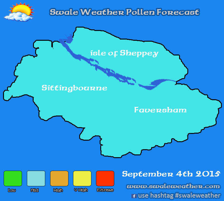 Swale Weather Pollen Forecast